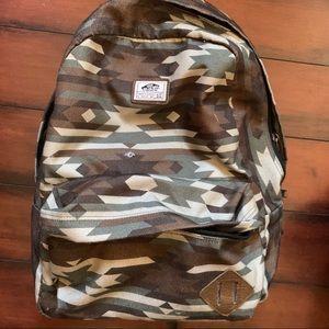 Vans Green Camp Backpack